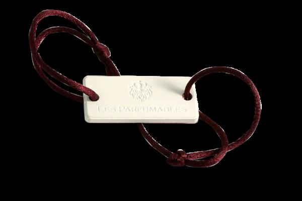 Bracelet pink leather verso