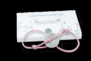 Bracelet à parfum - cordon coulissant et étui cadeau