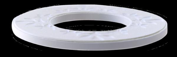 Chiselled light bulb ring