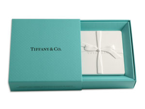 Tiffany's gift box with a CeraScent® ceramic