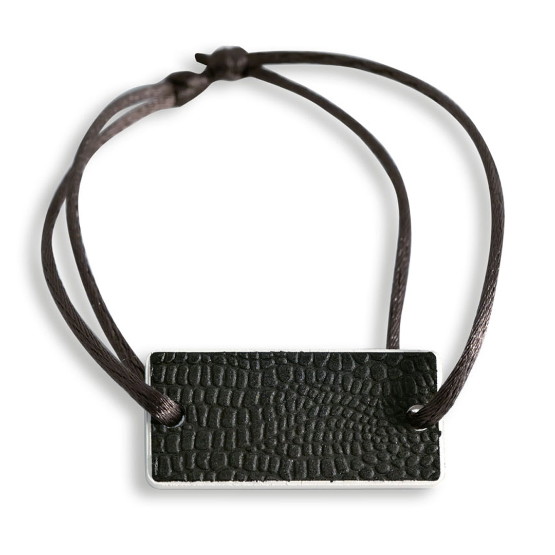 Bracelet Black leather