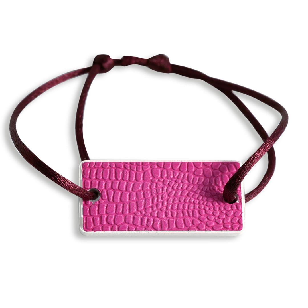 Bracelet Pink leather